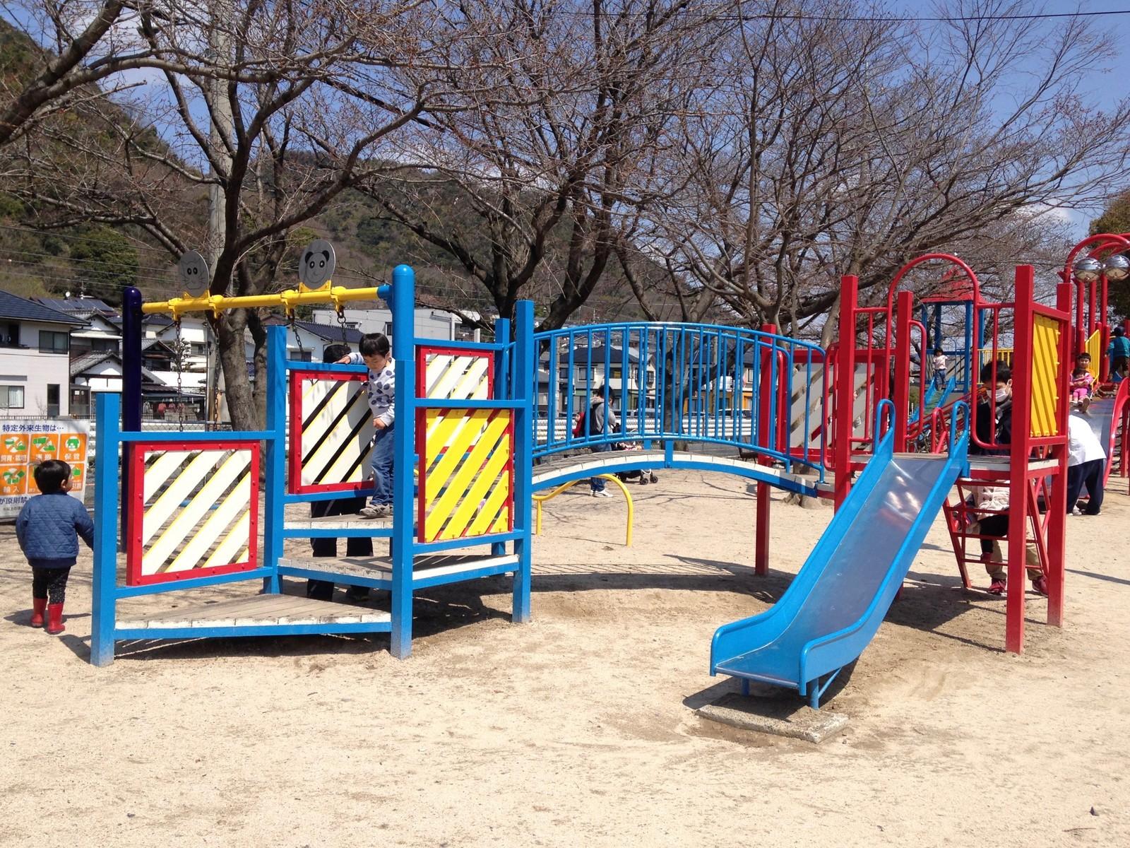石原公園(海田町) : 子どもといっしょに何する?@広島