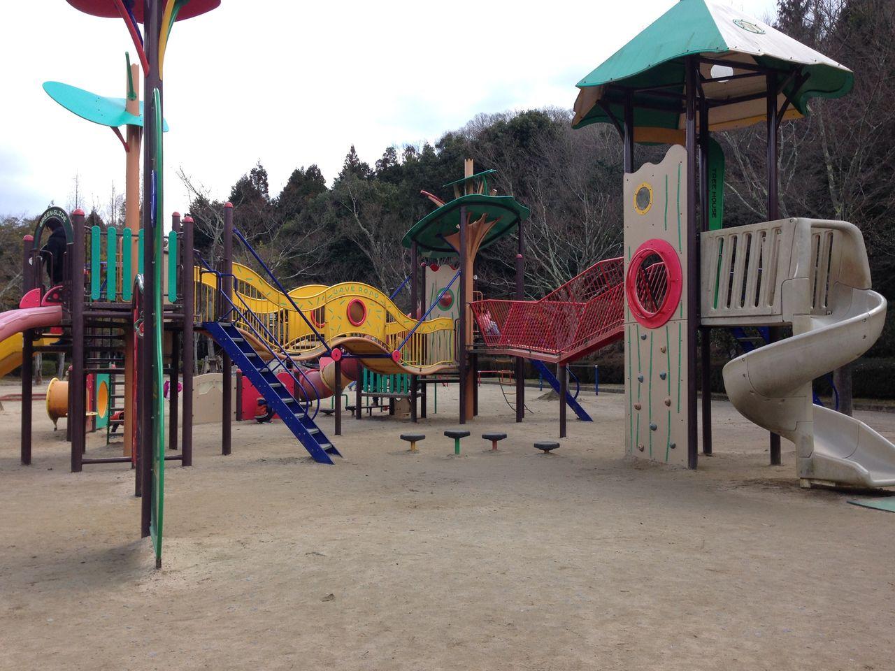 鏡山公園(東広島市) : 子どもといっしょに何する?@広島