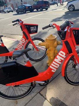 電動シェア自転車JUMP