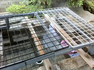 温泉卵を作る湯場