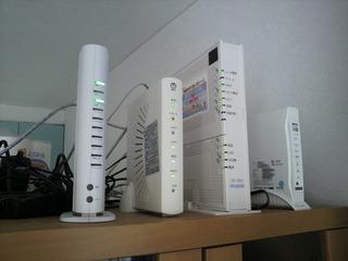 我が家のネットワーク機器たち