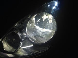 助手席側ライト