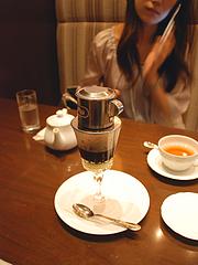 珈琲茶館のベトナム珈琲