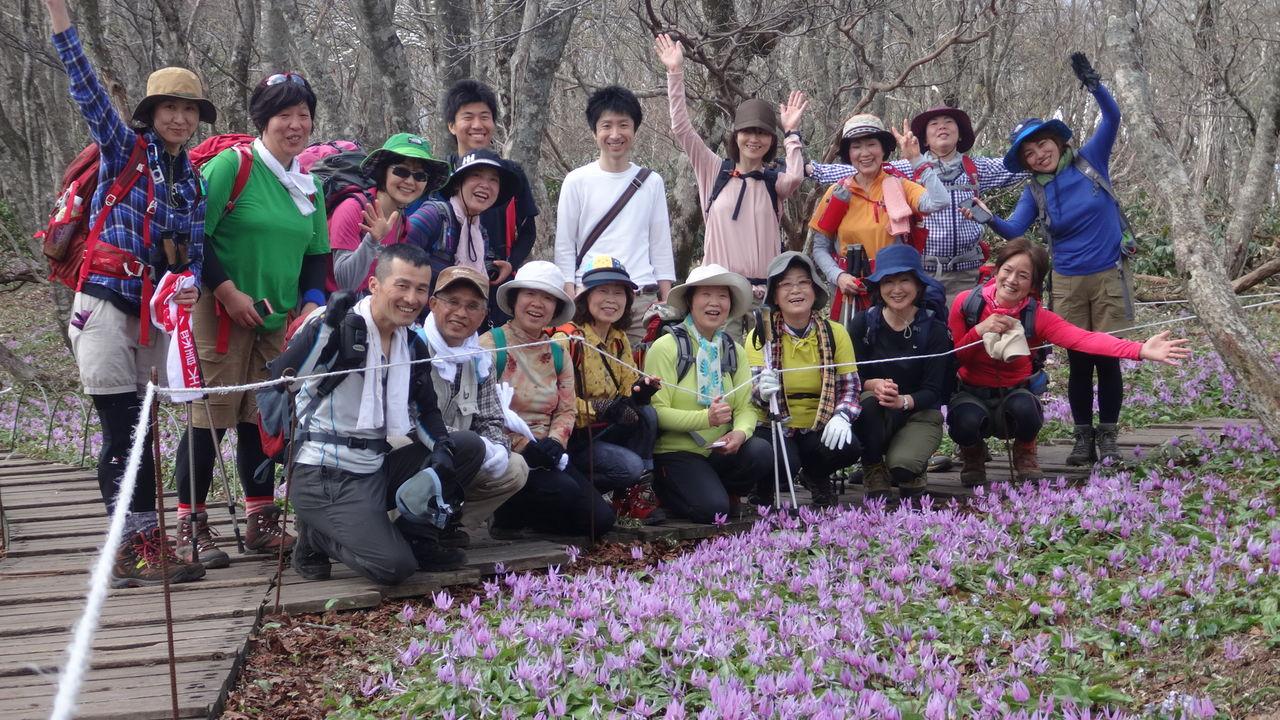 0326d30f46 去年富士山チャレンジをした三次のお寺・源光寺様が、なんと登山クラブを発足なさいました! その名も「源光寺・山歩きの会」。