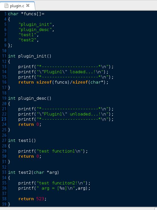 C言語で動的ローディング(プラグイン実装) : Linuxをはじめよう!