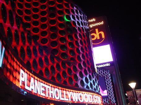 画像:ラスベガスホテル デジタルサイネージ