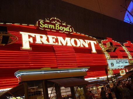 ラスベガス ダウンタウン フリーモントホテル