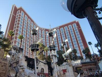 ラスベガス TIホテル 海賊船