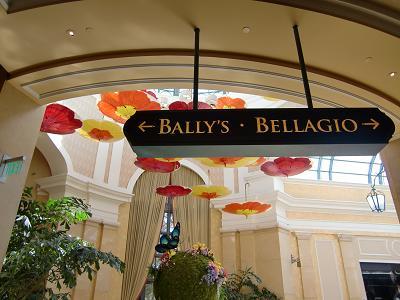 ラスベガス ベラッジオホテル ホテル内飾り