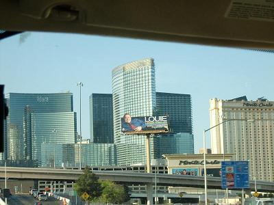 ラスベガス シティーセンター aria hotel アーリアホテル