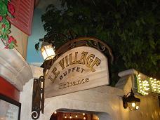 ラスベガス パリスホテル 人気Buffet LE VILLAGE