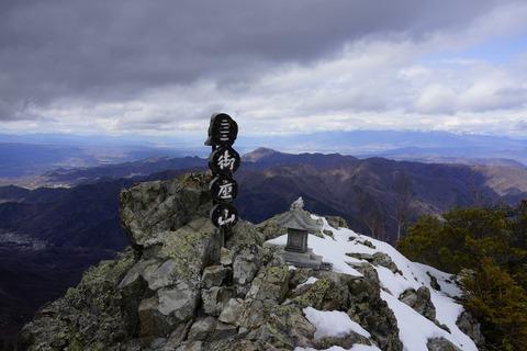 032 山頂に到着。