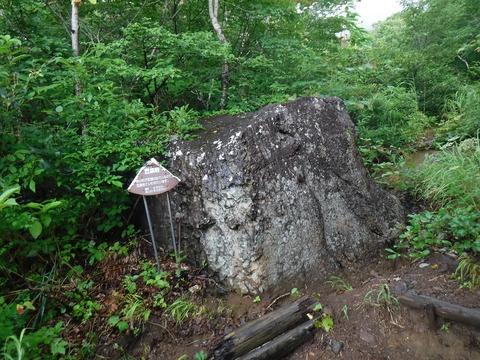 088 こんな岩にだって名前を付けている。