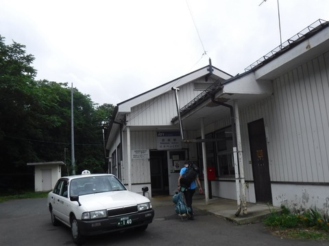 072 渋民駅に到着。