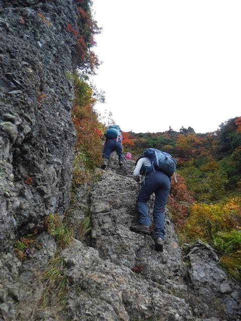 119 岩そのものもスタンス豊富。