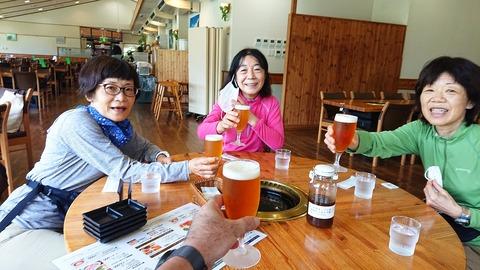 149 外は暑かったのでビールが美味い。