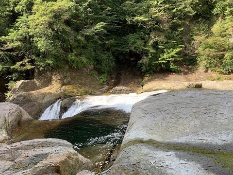 245 ここは吹割の滝。