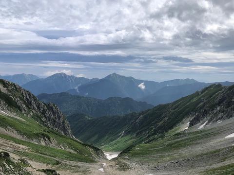 060 爺ヶ岳、鹿島槍ヶ岳、五竜岳。