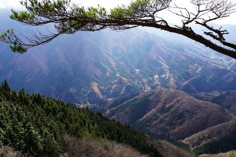 132 道志は全て山の中である。