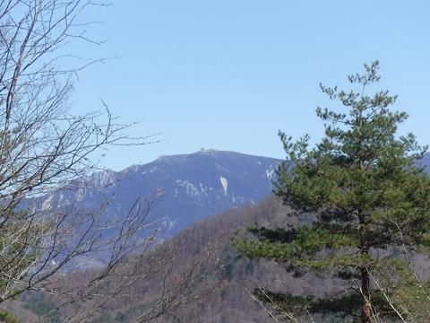 09 金峰山クローズアップ。