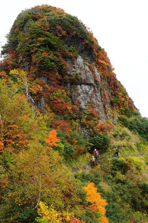 160 地蔵岳を巻けば虎口を脱したことになる。