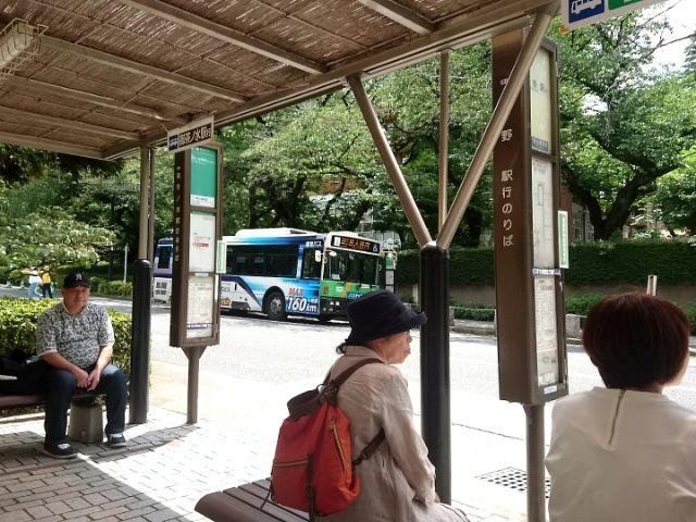 御茶ノ水駅(聖橋口)→ ◯大構内 ルートのバス