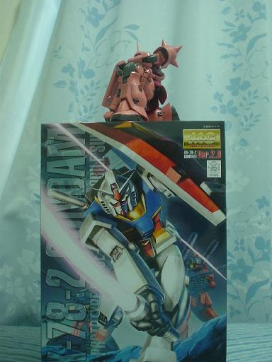 【YAMADA電機】MG 1/100 RX-78-2ガンダムVer.2.0【本日入荷】