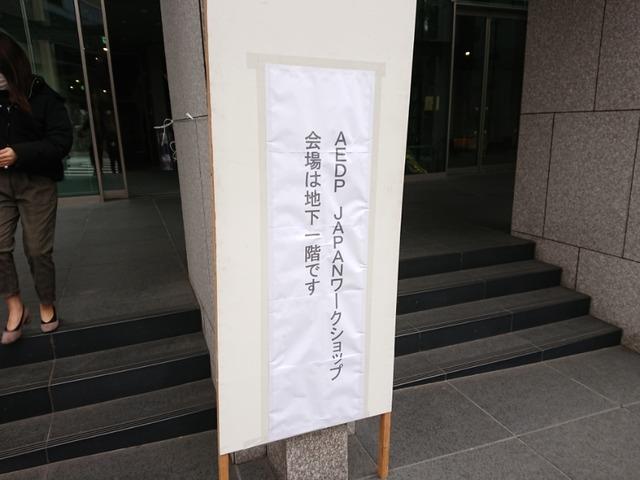 AEDPのワークショップに行ってきた。