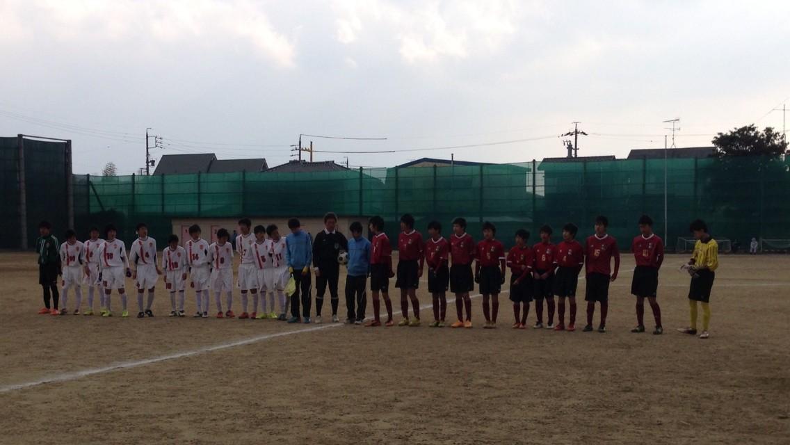 2/15 津地区リーグ(南郊中学校) : 久居西サッカー部のブログ