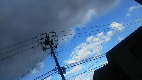 曇りか晴れか