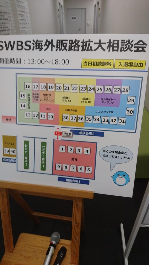 ブログ記事: SWBS海外販路拡大相談会