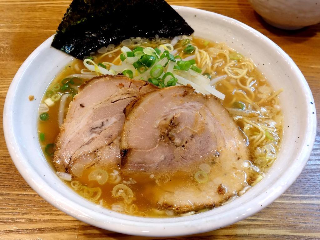 上海麺館@中野 (豚そば、鶏つけ) : らーめん喰倒記