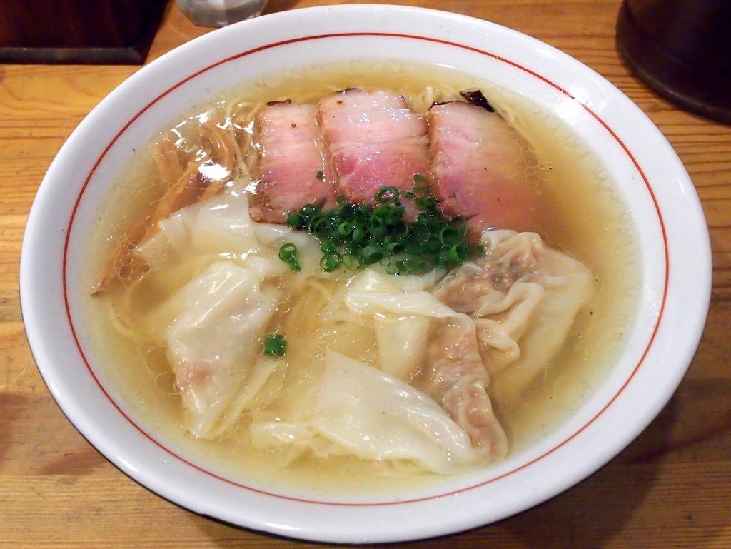 麺屋 KABOちゃん@駒込 (塩中華そば、しもふり中華そば) : らーめん喰倒記