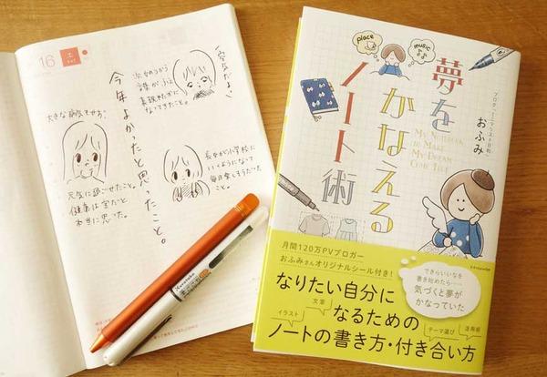 ミニマリストのおふみさんの「夢をかなえるノート術」を読んでノートをかいてみた!