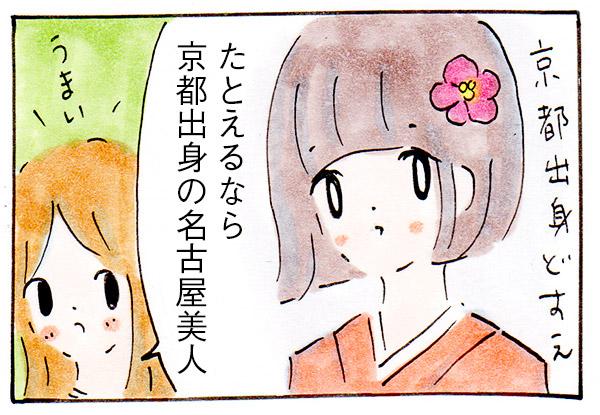 たとえるなら京都出身の名古屋美人だと思うお菓子