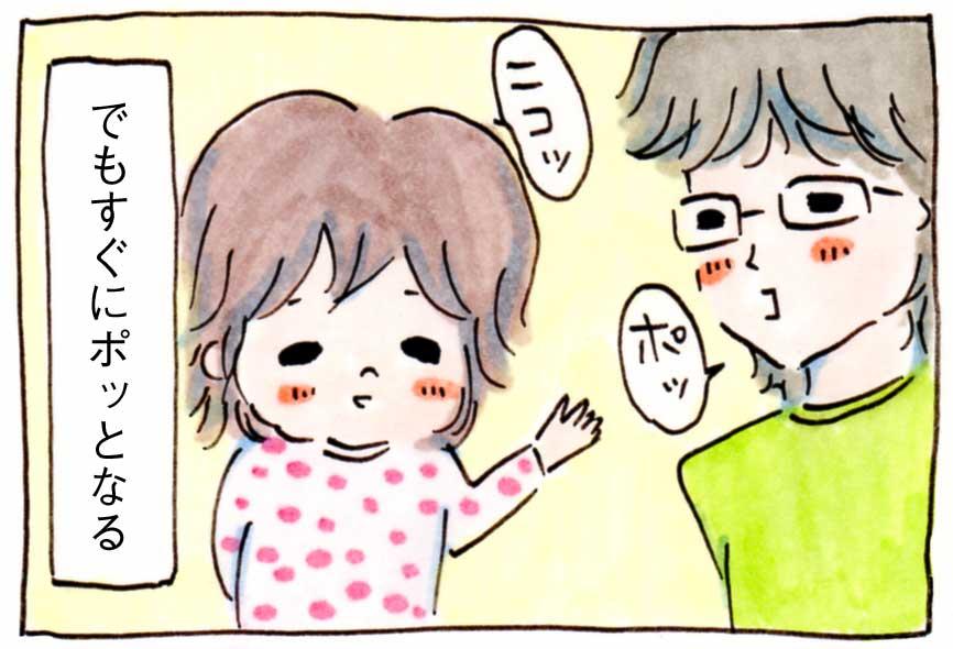 夫が次女(2才)に「ふてぶてしいな~」とやたらという件【育児絵日記】