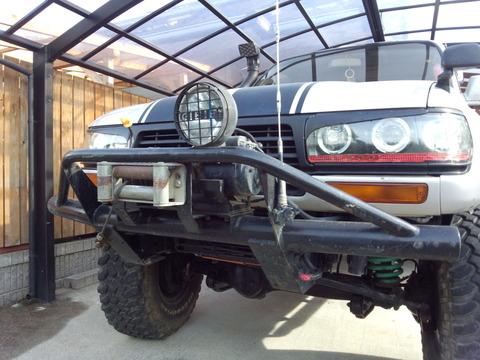 ランクル80 Fバンパー