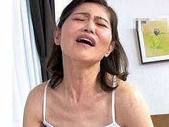 <細川理恵子>五十路熟女が肉棒を欲してAVに応募してきた初撮り