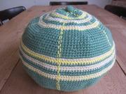 丸帽子タータン>グリーン