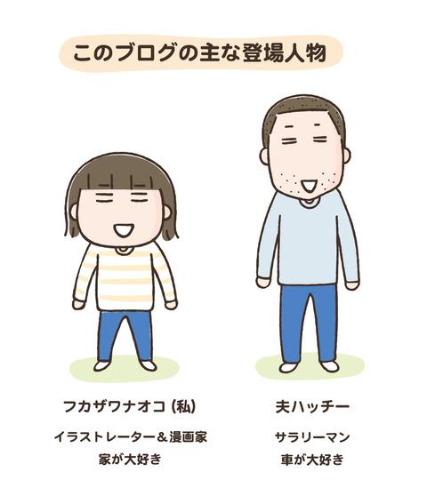 ブログ登場人物new