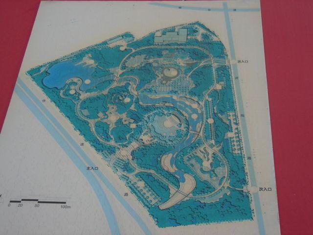 2.緑水園地図