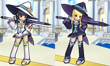 elsword avatar update jp blast it elesis fashion