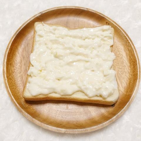151チーズケーキ風トースト3