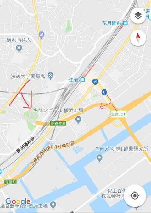 $11 【資料】岸谷生麦IC
