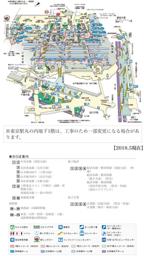 $23 【資料】東京駅(成田エクスプレスのホーム)