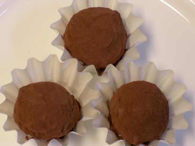 トリュフ (チョコレート)の作り方:フランス料理レシピ シェフの