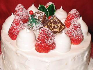 クリスマスケーキ レシピ