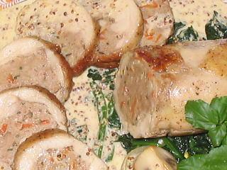 チキン腿肉の詰め物ローストレシピ【クリスマスレシピ】