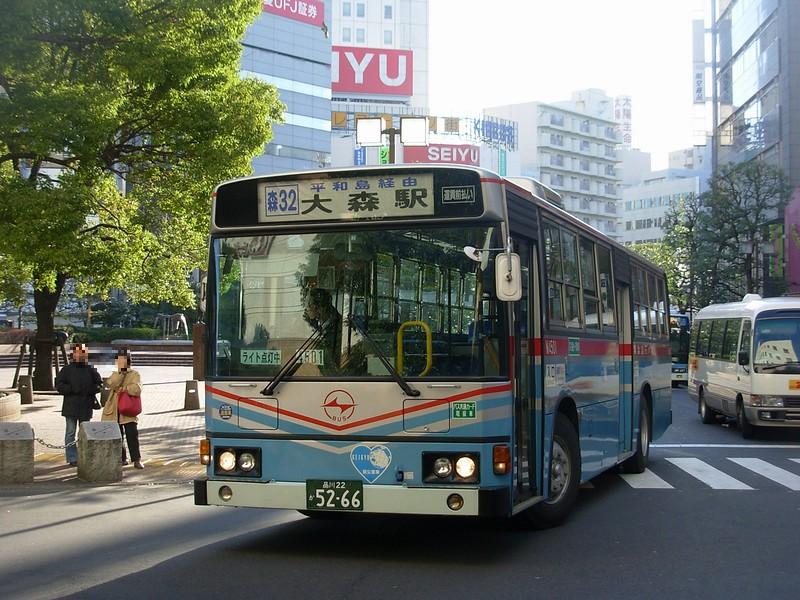 関東圏のバス(埼玉以外):日吉の...