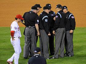野球のルールに詳しい奴ちょっとこい